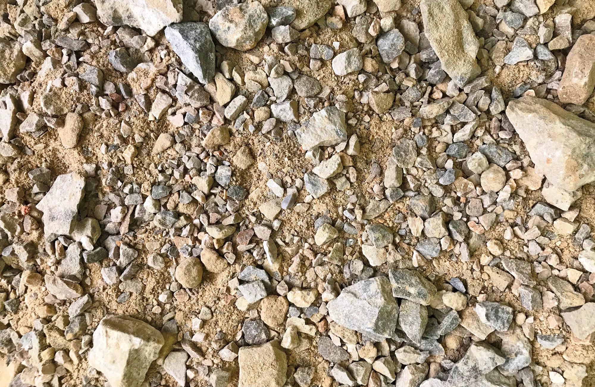 Relativ Mineralische Tragschichten - H. Geiger GmbH Stein- und Schotterwerke CG02